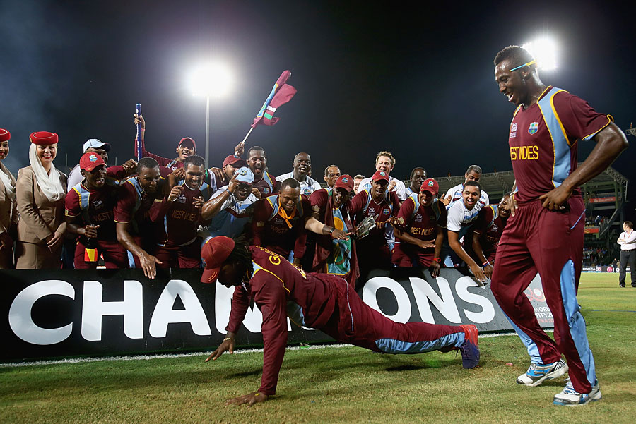 There was no stopping Chris Gayle