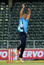 Michael Bates took 1 for 17 in three overs, Auckland Aces v Sialkot Stallions, Champions League T20, Johannesburg, October 9, 2012