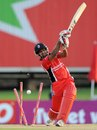 Adrian Barath was bowled for a duck, Trinidad & Tobago v Yorkshire, Champions League T20, Centurion, October 10, 2012