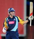 Gary Ballance slammed six sixes in his unbeaten 64, Trinidad & Tobago v Yorkshire, Champions League T20, Centurion, October 10, 2012