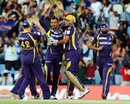 Sunil Narine took three wickets