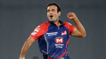 Irfan Pathan bowled an economical spell and picked up two wickets