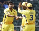R Ashwin took two wickets