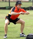 Perth Scorchers' Brad Hogg at a practice session
