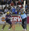 Azhar Mahmood plays towards the off side, Auckland v Kolkata Knight Riders, Group A, Champions League Twenty20, Cape Town, October 15, 2012