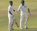 Bhuvneshwar Kumar and Rituraj Singh shared a 127-run partnership, Central Zone v North Zone, Duleep Trophy, semi-final, Hyderabad, 4th day, October 17, 2012
