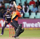 Simon Katich prepares to play a shot, Kolkata Knight Riders v Perth Scorchers, Group A, Champions League T20, Durban, October 17, 2012