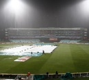 Heavy rain washed out play in Durban, Kolkata Knight Riders v Perth Scorchers, Group A, Champions League T20, Durban, October 17, 2012