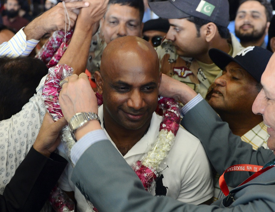 151048 - International XI arrives for Twenty20 In Pakistan
