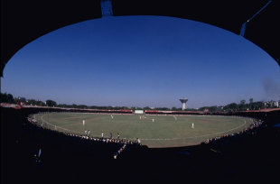 Sardar Vallabhai Patel Stadium during the first home ODI played by India,  Ahmedabad, November 25, 1981