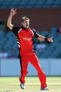 Kane Richardson appeals for a wicket, South Australia v Queensland, Ryobi Cup, Adelaide, October 21, 2012