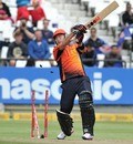 Herschelle Gibbs was bowled for 6 by Morne Morkel, Delhi Daredevils v Perth Scorchers, Champions League T20, Cape Town, October 21, 2012