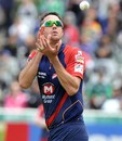 Kevin Pietersen catches the ball, Delhi Daredevils v Perth Scorchers, Champions League T20, Cape Town, October 21, 2012