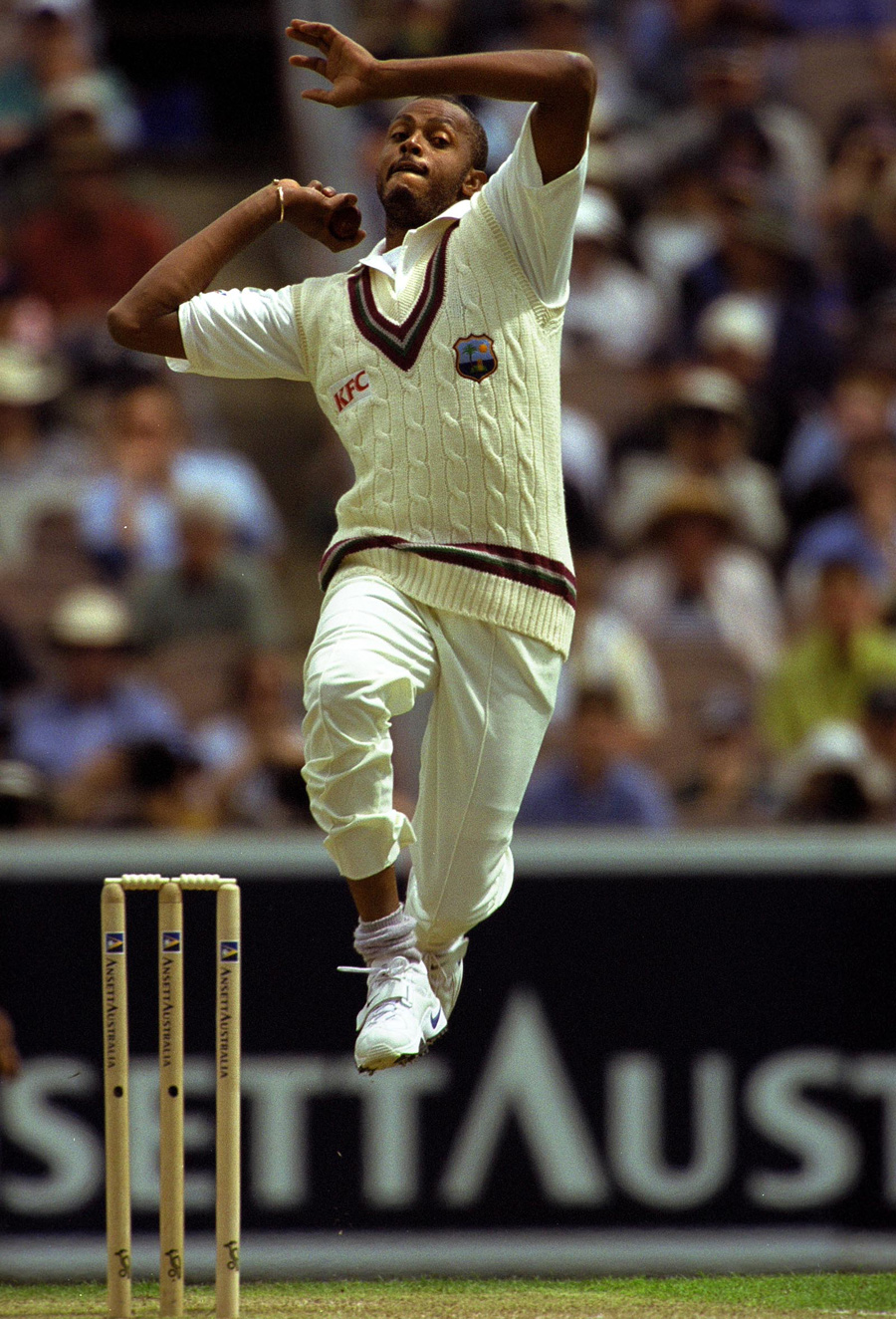 Courtney Walsh took two wickets in the first innings | Photo ...