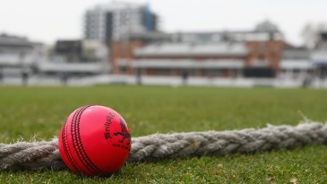 The Dukes pink ball at Lord's