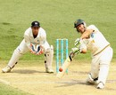 Ricky Ponting drives through the off side