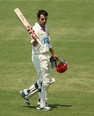 Callum Ferguson celebrates his century, South Australia v Queensland, Sheffield Shield, Adelaide, 2nd day, October 24, 2012