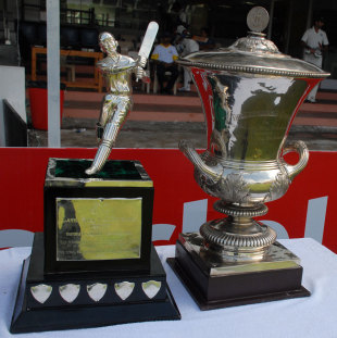 The spoils up for grabs at the Duleep Trophy, Central Zone v East Zone, Duleep Trophy final, 4th day, October 24, Chennai