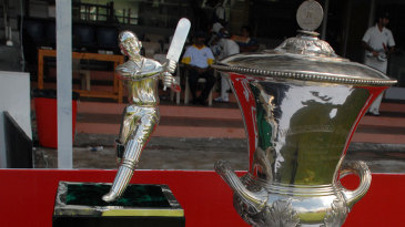 The spoils up for grabs at the Duleep Trophy