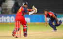 Gulam Bodi hit a half-century, Delhi Daredevils v Lions, 1st semi-final, Champions League T20, Durban, October 25, 2012