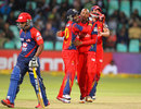 Aaron Phangiso delivered for Lions once again, Delhi Daredevils v Lions, 1st semi-final, Champions League T20, Durban, October 25, 2012