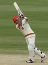 Daniel Chistian drives one down the ground, South Australia v Queensland, Sheffield Shield, Adelaide, 4th day, October 26, 2012