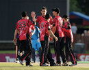 Mitchell Starc struck early for Sydney Sixers
