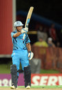 Henry Davids finished unbeaten on 59, Titans v Sydney Sixers, 2nd semi-final, Champions League T20, Centurion, October 26, 2012