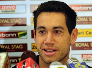 Ross Taylor speaks to reporters, Pallekele, October 29, 2012