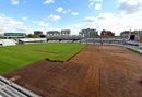 The Lord's outfield undergoing a project to relay the turf, Lord's, October 30, 2012