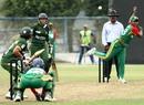 Bangladesh's Shukhtara Rahman bowls, Bangladesh v Pakistan, 2nd semi-final, ACC Women's T20 Asia Cup, Guangzhou, October 30, 2012