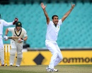 Imran Tahir appeals against Tim Paine, Australia A v South Africans, Sydney, 2nd day, November 3, 2012
