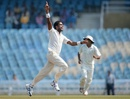 Kshemal Waingankar dismissed Ian Bell and Nick Compton, Mumbai A v England XI, Mumbai, 1st day, November 3, 2012