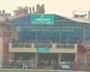 A view of the pavilion in Ghaziabad, UP v Delhi, Group B, Ranji Trophy 2012-13, Ghaziabad, 2nd day, November 3, 2012