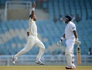 Kshemal Waingankar dismissed Samit Patel for 60, Mumbai A v England XI, 2nd day, Mumbai, November 4, 2012