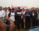 Imtiaz Ahmed and Mukul Dagar received the man-of-the-match award, Uttar Pradesh v Delhi, Group B, Ranji trophy, Ghaziabad, 4th day, November 5, 2012