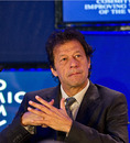 Imran Khan participates in the World Economic Forum in India, Gurgaon, November 7, 2012