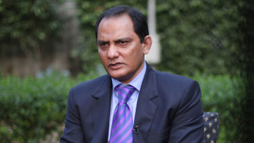 Mohammad Azharuddin after a court lifted his life ban