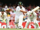Alviro Petersen shapes to play the reverse sweep