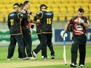 Shaun Tait took 2 for 14 for Wellington, Wellington v Canterbury, HRV Cup, Wellington, November 9, 2012