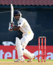 Baba Aparajith ended day one unbeaten on 85, Tamil Nadu v Karnataka, Group B, Ranji Trophy 2012-13, Chennai, 1st day, November 9, 2012