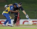 Jeevan Mendis runs out BJ Watling
