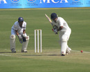 Kedar Jadhav on his way to a triple-century against Uttar Pradesh, Maharashtra v Uttar Pradesh, Group B, Ranji Trophy, 2nd day, Pune, November 10, 2012