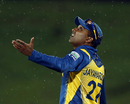 Mahela Jayawardene gauges the rain
