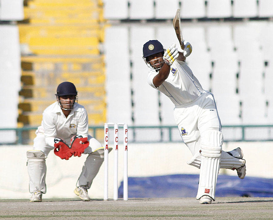 Wriddhiman Saha scored 98