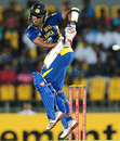 Dinesh Chandimal tucks a delivery away towards the leg side, Sri Lanka v New Zealand, 4th ODI, Hambantota, November 10, 2012
