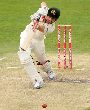 Ed Cowan kept his head over the ball on the way to 136