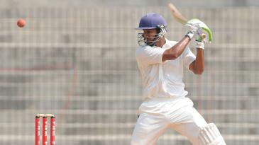 Ganesh Satish scored an unbeaten double-century
