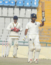 Wriddhiman Saha scored a half-century, Punjab v Bengal, Ranji Trophy, Group A, 4th day, Mohali, November 12, 2012