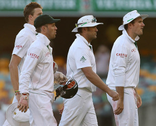 South Africa didn't have a successful fourth day, Australia v South Africa, 1st Test, 4th day, Brisbane, November 12, 2012